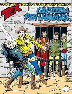 Copertina TEX NUOVA RISTAMPA n.378 - Giustizia per i navajos, BONELLI EDITORE