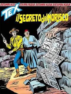Copertina TEX NUOVA RISTAMPA n.388 - Il segreto del Morisco, BONELLI EDITORE