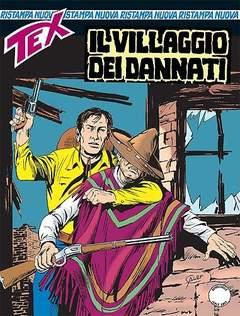 Copertina TEX NUOVA RISTAMPA n.391 - Il villaggio dei dannati, BONELLI EDITORE