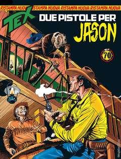 Copertina TEX NUOVA RISTAMPA n.433 - Due pistole per Jason, BONELLI EDITORE