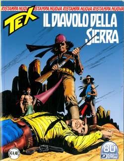 Copertina TEX NUOVA RISTAMPA n.470 - IL DIAVOLO DELLA SIERRA, BONELLI EDITORE