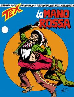 Copertina TEX NUOVA RISTAMPA n.1 - La Mano Rossa, BONELLI EDITORE