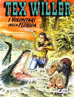 Copertina TEX WILLER n.21 - I VOLONTARI DELLA FLORIDA, BONELLI EDITORE
