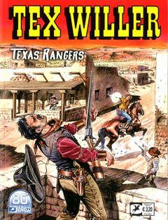 Copertina TEX WILLER n.28 - TEXAS RANGERS, BONELLI EDITORE