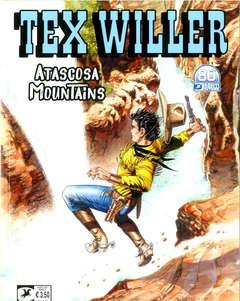 Copertina TEX WILLER n.34 - ATASCOSA MOUNTAINS, BONELLI EDITORE