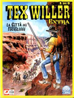 Copertina TEX WILLER EXTRA (m3) n.1 - LA CITTA' DEI FUORILEGGE, BONELLI EDITORE