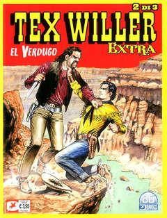 Copertina TEX WILLER EXTRA (m3) n.2 - EL VERDUGO, BONELLI EDITORE