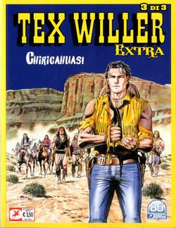 Copertina TEX WILLER EXTRA (m3) n.3 - CHIRICAHUAS!, BONELLI EDITORE