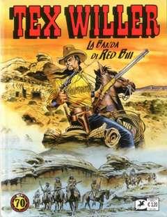 Copertina TEX WILLER n.2 - La banda di Red Bill, BONELLI EDITORE