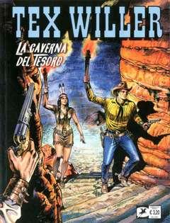 Copertina TEX WILLER n.4 - La caverna del tesoro, BONELLI EDITORE