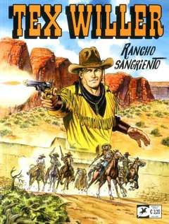 Copertina TEX WILLER n.7 - Rancho Sangriento, BONELLI EDITORE