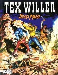 Copertina TEX WILLER n.9 - Sierra madre, BONELLI EDITORE