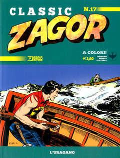 Copertina ZAGOR CLASSIC n.17 - L'URAGANO, BONELLI EDITORE