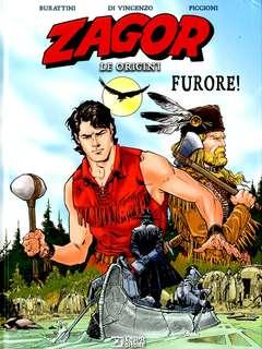 Copertina ZAGOR LE ORIGINI FURORE! n. - FURORE!, BONELLI EDITORE