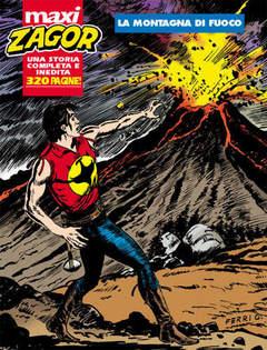 Copertina ZAGOR MAXI n.9 - La montagna di fuoco, BONELLI EDITORE