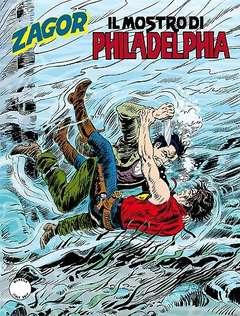 Copertina ZENITH GIGANTE n.657 - Il mostro di Philadelphia, BONELLI EDITORE