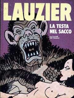 Copertina LAUZIER n.3 - LA TESTA NEL SACCO, BONELLI-DARGAUD