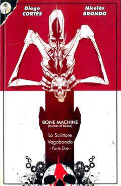 Copertina BONE MACHINE n.2 - BONE MACHINE UKLTIMATE COLLECTION, BOOKMAKER