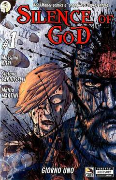 Copertina SILENCE OF GOD n.1 - GIORNO 1, BOOKMAKER