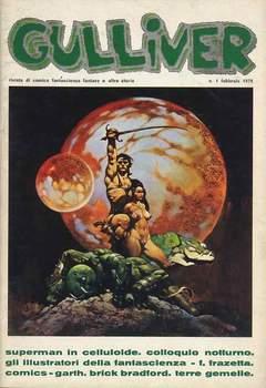 Copertina GULLIVER I SERIE n.10 - GULLIVER 1 FEBBRAIO 1978, C.A.F.
