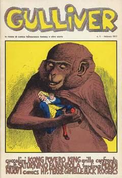 Copertina GULLIVER I SERIE n.4 - GULLIVER 1 FEBBRAIO 1977, C.A.F.