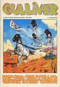 Copertina GULLIVER I SERIE n.2 - GULLIVER 1 SETTEMBRE 1976, C.A.F.