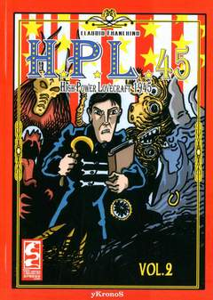 Copertina H.P.L.1945 n.2 - H.P.L. - HIGH POWER LOVECRAFT 1945, CAGLIOSTRO E-PRESS