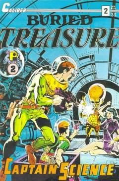 Copertina BURIED TREASURE M3 n.2 - Captain Science, CALIBER PRESS