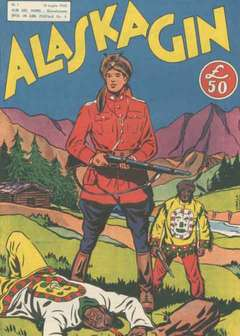Copertina ALASKA GIN n. - ALASKA GIN 1e2 SERIE DA 1 A 16  , CAMILLO CONTI EDIZIONI