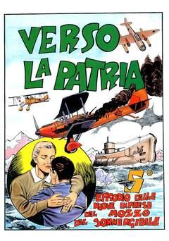 Copertina ALBI VARI n.22 - VERSO LA PATRIA, CAMILLO CONTI EDIZIONI