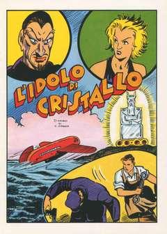 Copertina ALBI VARI n.27 - L'IDOLO DI CRISTALLO, CAMILLO CONTI EDIZIONI