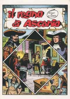 Copertina ALBI VARI n.28 - IL REGNO DI ASCANIO, CAMILLO CONTI EDIZIONI