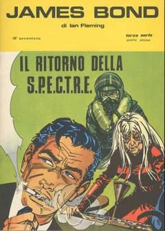 Copertina JAMES BOND n.18 - RITORNO DELLA SP. PARTE 1, CAMILLO CONTI EDIZIONI