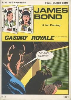Copertina JAMES BOND n.1 - CASINO' ROYALE, CAMILLO CONTI EDIZIONI