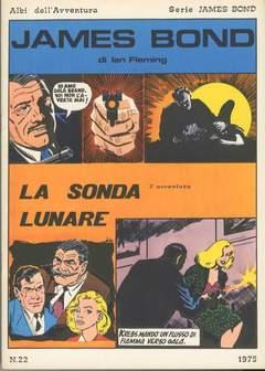 Copertina JAMES BOND n.3 - LA SONDA LUNARE, CAMILLO CONTI EDIZIONI