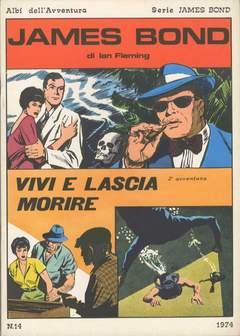 Copertina JAMES BOND n.2 - VIVI E LASCIA MORIRE, CAMILLO CONTI EDIZIONI