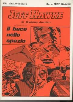Copertina JEFF HAWKE n.44 - IL BUCO NELLO SPAZIO, CAMILLO CONTI EDIZIONI