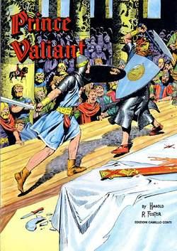 Copertina PRINCE VALIANT n.15 - 1953/1954 - TAV.  841- 901, CAMILLO CONTI EDIZIONI