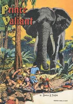 Copertina PRINCE VALIANT n.5 - 1941/1942 - TAV.  241- 300, CAMILLO CONTI EDIZIONI