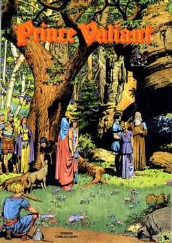 Copertina PRINCE VALIANT n.8 - 1945/1946 - TAV.  421- 480, CAMILLO CONTI EDIZIONI