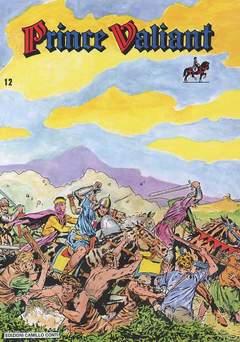 Copertina PRINCE VALIANT NUOVA SERIE n.12 - TAVOLE 1975/1988, CAMILLO CONTI EDIZIONI