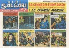Copertina SALGARI ALBI n. - 1/20 (I SERIE 1946) - SUPPLEMENTO GIORNALE SALGARI, CAMILLO CONTI EDIZIONI