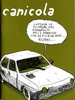 Copertina CANICOLA n.2 - CANICOLA                     2, CANICOLA