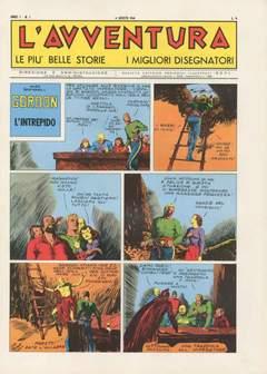 Copertina AVVENTURA L' GIORNALE/LIBRETTO n.1 - 01/18 1944, CAPRIOTTI