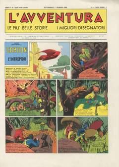 Copertina AVVENTURA L' GIORNALE/LIBRETTO n.2 - 01/33 1945, CAPRIOTTI