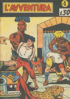 Copertina AVVENTURA L' GIORNALE/LIBRETTO n.3 - 1/16 1949+1/10 1950 piccoli, CAPRIOTTI