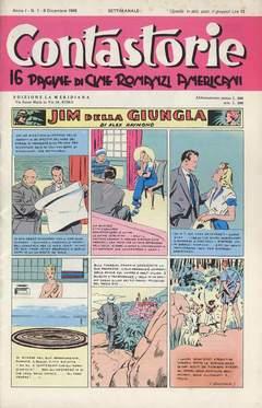 Copertina CONTASTORIE n. - 1945 - 01/04; 1946 - 01, CAPRIOTTI