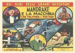 Copertina MANDRAKE 1/7 -10/20 n. - MANDRAKE 1/7 -10/20, CAPRIOTTI