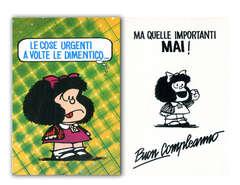 Copertina BIGLIETTI MAFALDA n.4 - LE COSE URGENTI A VOLTE LE DIMENTICO...., CARTOLINE BIGLIETTI POSTER