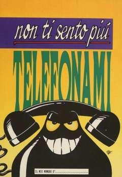 Copertina CARTOLINE CATTIVIK n.2 - NON TI SENTO PIù', TELEFONAMI., CARTOLINE BIGLIETTI POSTER